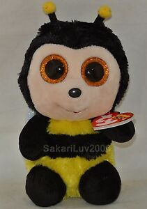 New! 2017 Ty Beanie Boos BUZBY the Bumble Bee 6