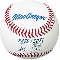 Macgregor® Safe/soft Baseball - Level 1 Ages 5 - 7 (dozen)