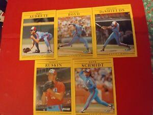 1991-Fleer-Baseball-Montreal-Expos-5-card-lot
