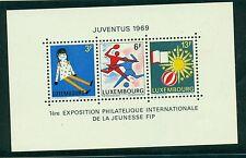SPORT & GIOCHI - JUVENTUS 1969 LUXEMBOURG 1969 block