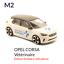 miniature 2 - M2 Opel Corsa M2 Vétérinaire - Majorette 3 inches no Norev