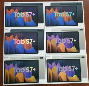 NEW SEALED Samsung Galaxy Tab S7 Plus S7+ 256GB 8G w S Pen Wi-Fi Mystic Silver