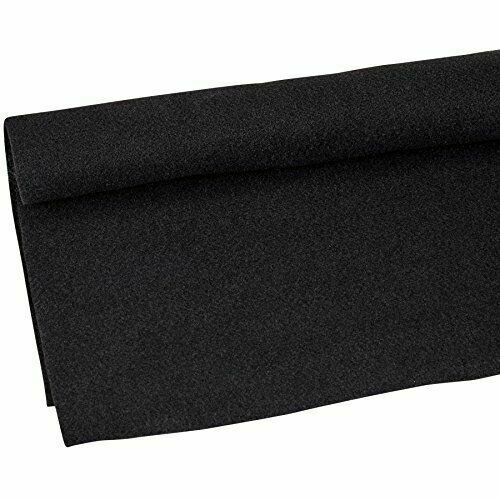 Absolute C20BK 20/' Long 4/' Wide Black Carpet for Speaker Sub Box Carpet