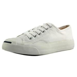 d687040708a4 Converse Jack Purcell CP Ox White Canvas Men Women Classic Casual ...