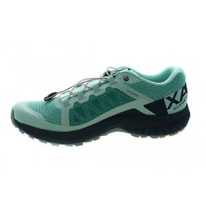 sélection premium 753b9 b4bf5 Details about New Salomon Women's XA Elevate Quicklace Outdoor 401380 Beach  Glass Green Size 6