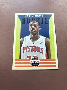 Khris-Middleton-Rookie-Card-2012-13-Past-And-Present-Basketball