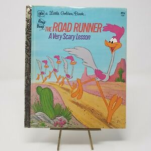 The Road Runner A Very Scary Lesson (A Little Golden Book) Hardcover 1974