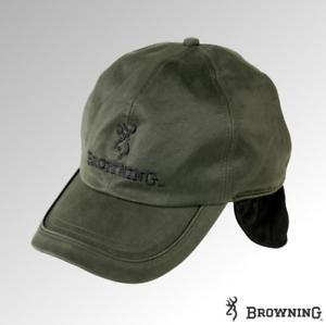 308984 Browning Cap Winter Wax Fleece Lined Green