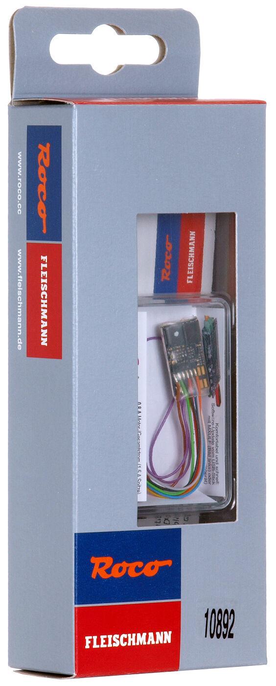 ROCO 10892/Zimo mx648r, h0 Sound Decoder 8 Pin  NEM 652  + + NUOVO & OVP + +