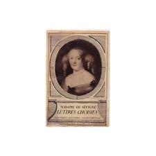 LETTRES CHOISIES Madame DE SÉVIGNE Collection Classique illustrée Hachette 1935