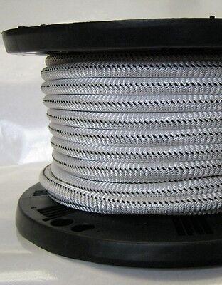 "5//16/"" 1000 ft Bungee Shock Cord Black Marine Grade Heavy Duty Shock Rope"