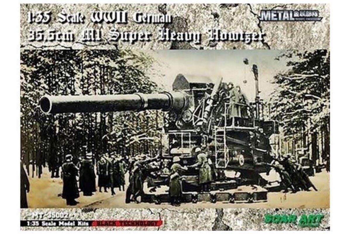 SOAR ART 35002 1 35 35.5cm Haubitze M.1 (35.5-cm H M.1) Heavy Siege Howitzer