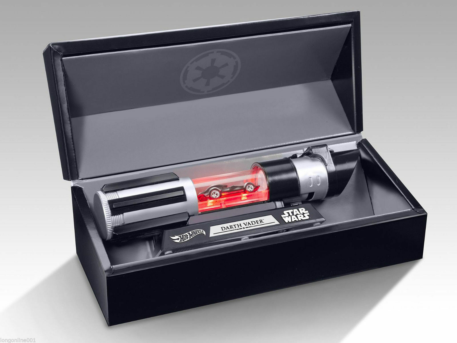 compras en linea Sdcc 2018 2018 2018 Star Wars Darth Vader Auto Hot Wheels Luz saber Mattel Exclusivo Raro  popular
