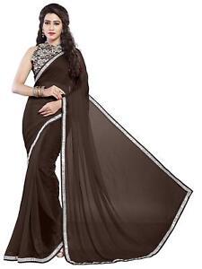 5581c8d18e402 Image is loading Indian-Ethnic-Party-Wear-Sari-Designer-Bollywood-Wedding-