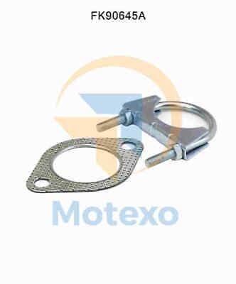 100% Vero Convertitore Catalitico Fk90645a Kit Di Montaggio Renault Safrane 2.4 10/1996 - 1/2000-