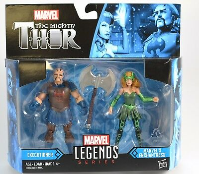 2017 Marvel Legends 3.75 The Mighty Thor EXECUTIONER /& ENCHANTRESS 2 Pack MOC