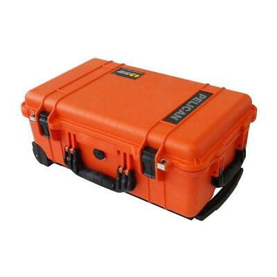 Orange /& Black Pelican 1510 case With Foam.