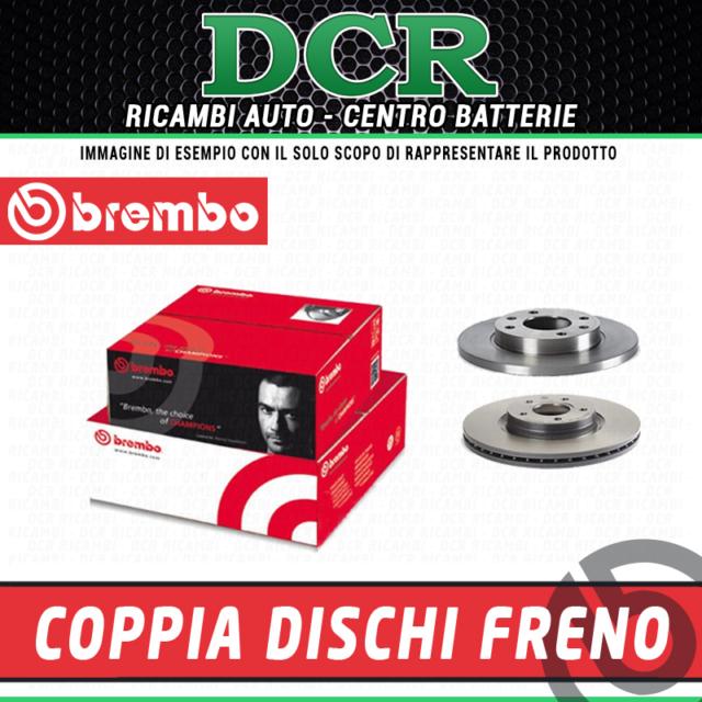 Coppia Dischi freno BREMBO 09.A500.11 LANCIA DELTA III (844_) 1.8 200CV 147KW