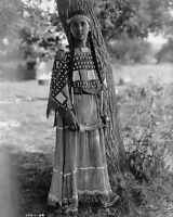 8x10 Native American Photo: Maiden Of Sioux, North American Indian Tribe