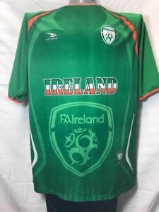 Green-FA-FAIreland-Ireland-One-Size-Soccer-Football-Jersey-Original-DRAKO