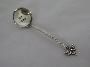 Antique English Sterling Small Condiment Ladle