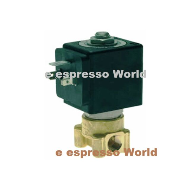 "Espresso coffee machine 220V-240V50/60Hz 9W 1/8"" x 1/8"" Two-way Lucifer Solenoid"