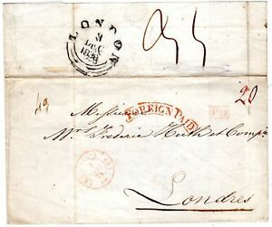 1838-PARIS-FRANCE-WRAPPER-TO-FREDr-HUTH-LONDON-FINE-RED-FRAMED-FOREIGN-PAID