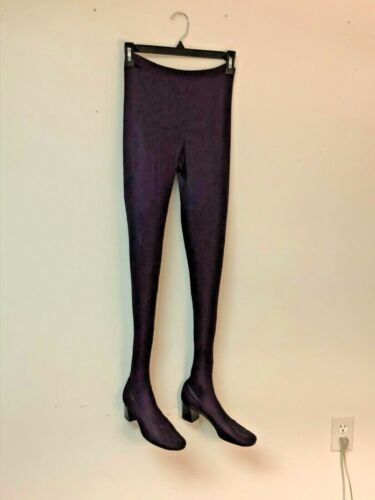1960s Pan T Boot Stretch Tights Pants Shoes Combo