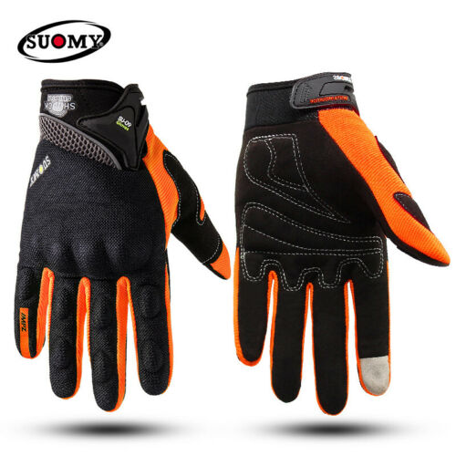 SUOMY Motorcycle Gloves Racing Breathable Seasons Cycling Motocross Protective