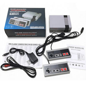 Mini-Classic-Edition-Game-Console-620-Classic-Games-Entertainment-2-Controller