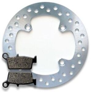 HONDA REAR Brake Disc Rotor + Pads XR 600 R XR600 91-00