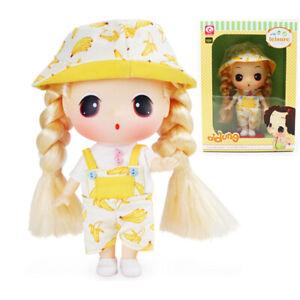 "ddung Big Eye Doll w// White Dress for Grilfriend Girls Toy Gift 7/"""