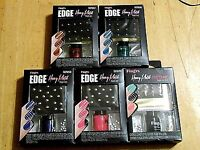 1 Fingrs Edge Heavy Metal Nail Art Kit Nip Choose Color