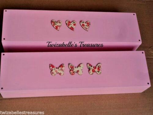 Treasures Certificate Red Hearts Or Butterfly Wooden Box Trinket Keepsake