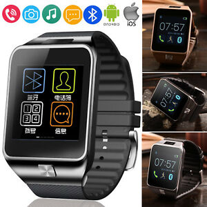 Details about Women Men Bluetooth Smart Watch For IOS iphone 8 Plus Android  Samsung S8 S7 Edge