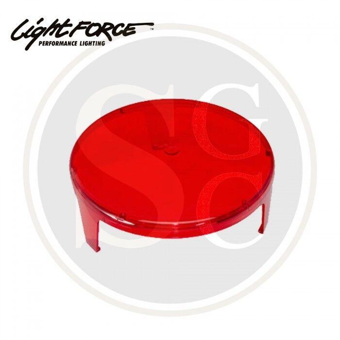 Lightforce Red Spotlight Filters for Lance, Striker & Blitz - Lamping Foxing