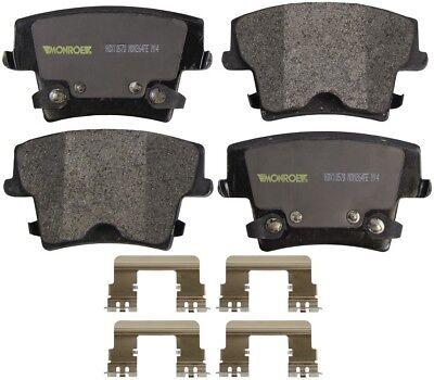 Disc Brake Pad Set-Brakes Severe Solution Brake Pads Front Monroe HDX1316W