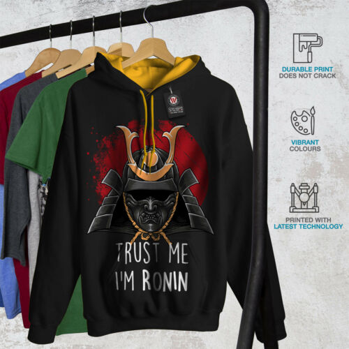 Contrast New di Black Hood Fidati Hoodie Men Funny sono Ronin gold me f7fnqxU8Y