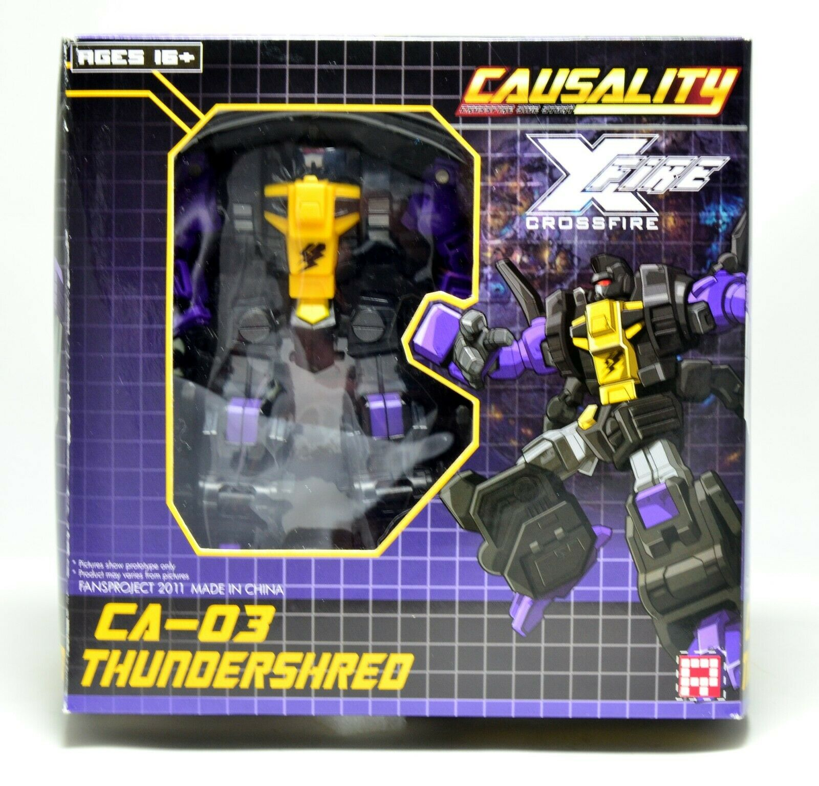 FANSPROJECT CA-03 Thundershrot - Causality X-Fire Series - Boxed - Complete