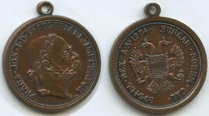 Medaillen Preiswert Kaufen Gx337 Medaille Österreich Ungarn 1904 Kaiser Franz Joseph I.1848-1916 Jeton GüNstigster Preis Von Unserer Website