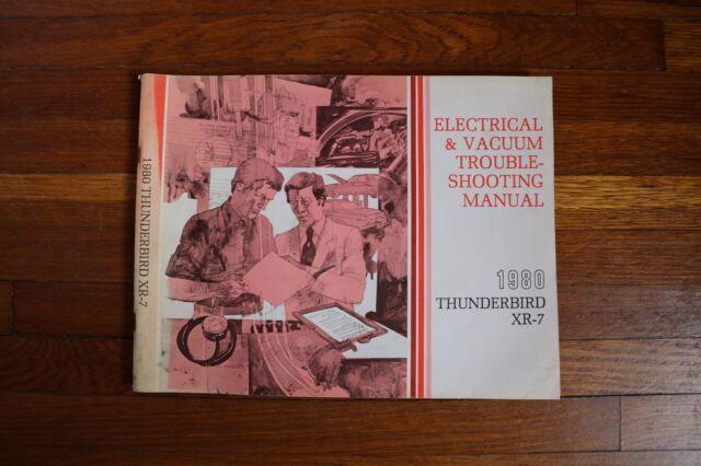 1980 Ford Thunderbird Mercury Cougar Xr7 Wiring Diagram Electrical Manual