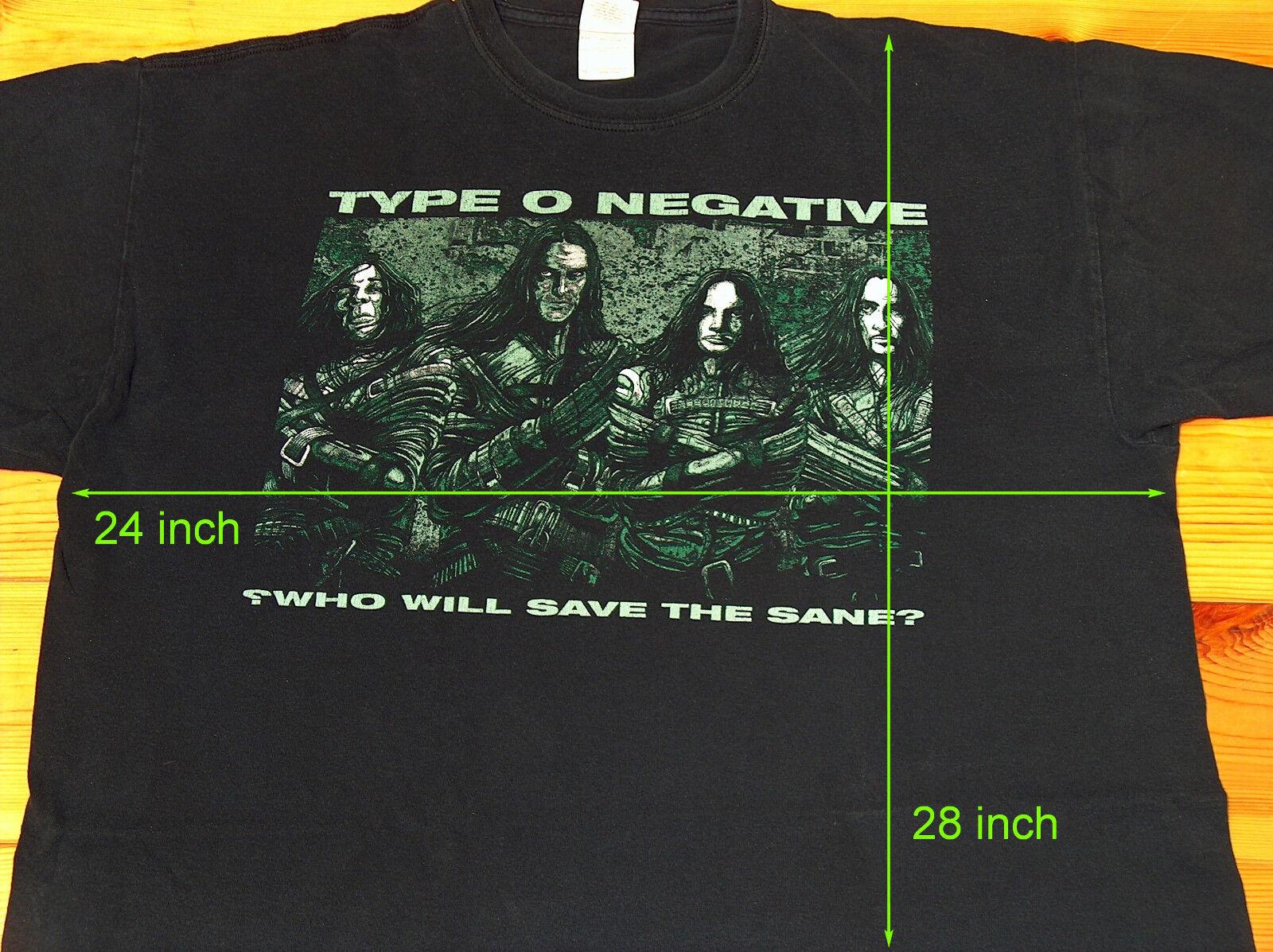⛔️ TYPE O NEGATIVE ⛔️ All Hallows Evil Tour 2009 Shirt XL ⛔️ CARNIVORE ⛔️ STEELE