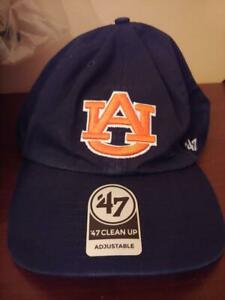 Auburn-Tigers-039-47-Brand-Basic-Logo-Clean-Up-Adjustable-Hat