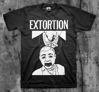 Extortion 'dummy' T Shirt Spazz Infest Drop Dead Hirax