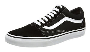 2c13722dee Image is loading Vans-Old-Skool-Classic-Black-White-Mens-Sneakers-