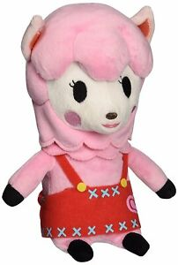"Little Buddy Animal Crossing New Leaf Risa Reese 9"" Stuffed Plush Authentic USA"