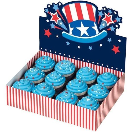 Uncle Sam Patriotic 4th of July Bakery Box from Wilton 1080 NEW