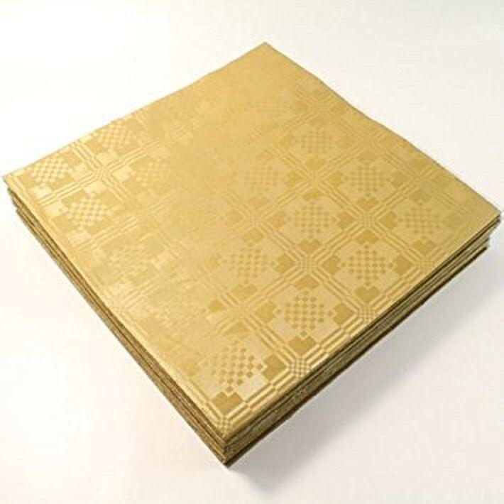 25 X X X Fogli Coloree oro Metallico Quadrato usa e getta TOVAGLIE COPERTINE Feste Matrimonio cb1cfc