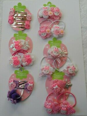 mini hair clips,girls hair clips slides snap clips pink /& white hearts baby hair