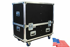 "Kent Custom Dual Lift-off Cab Case for JBL PRX612M Powered Speaker 3/8""Birch Ply"